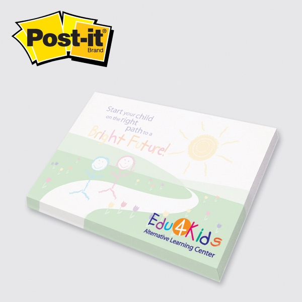 Post-it® Custom Printed Notepad - 3