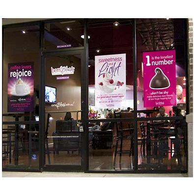 Window Clings / Window Graphics