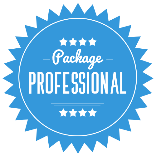 Professional Package $459