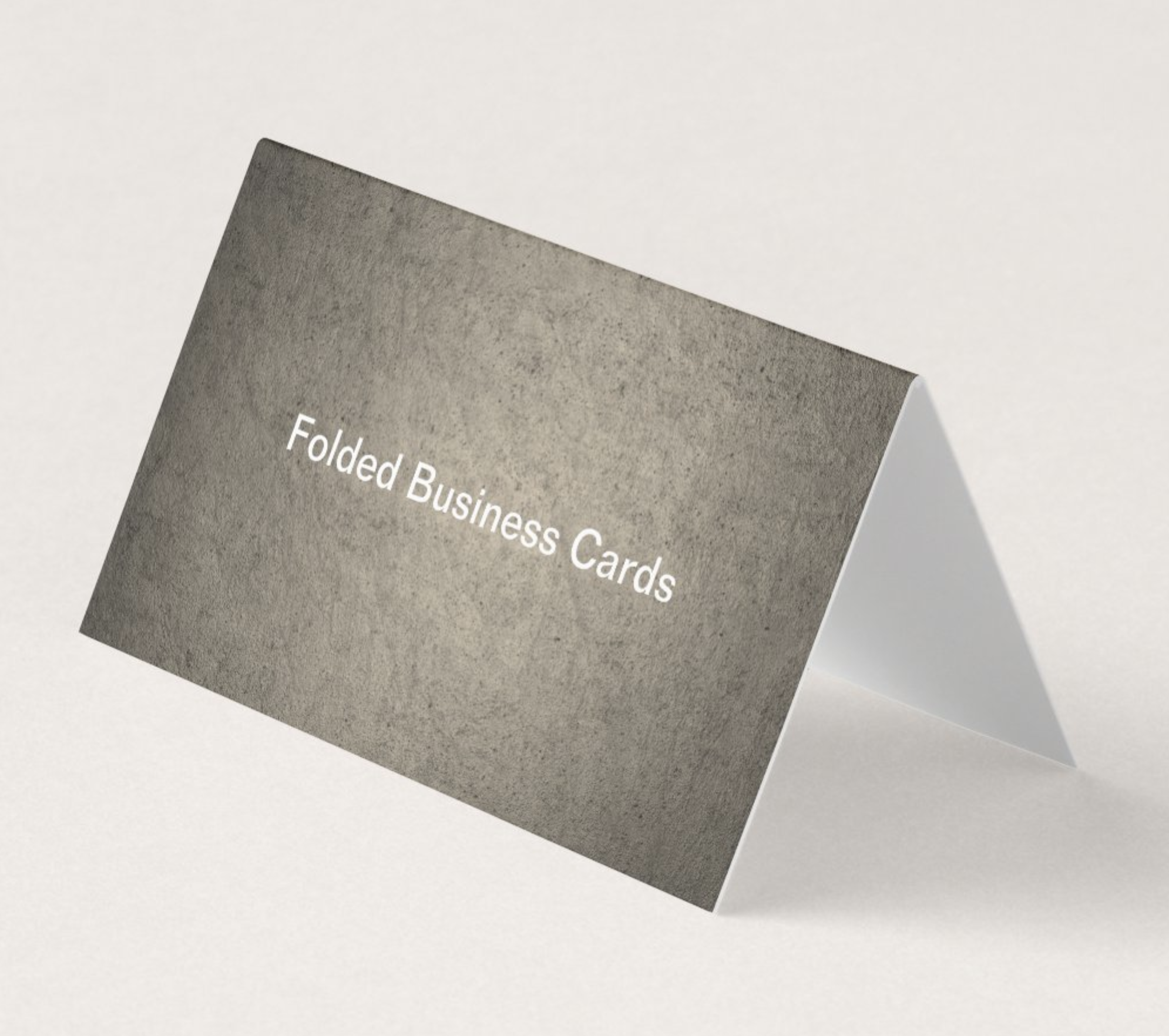 Premium Quality Foldover Business Cards