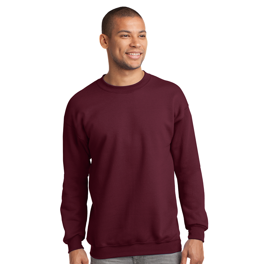 Port & Company® Essential Fleece Crewneck Sweatshirt - PC90