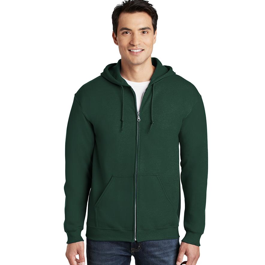 Economy Gildan - Heavy Blend™ Full-Zip Hooded Sweatshirt - 18600