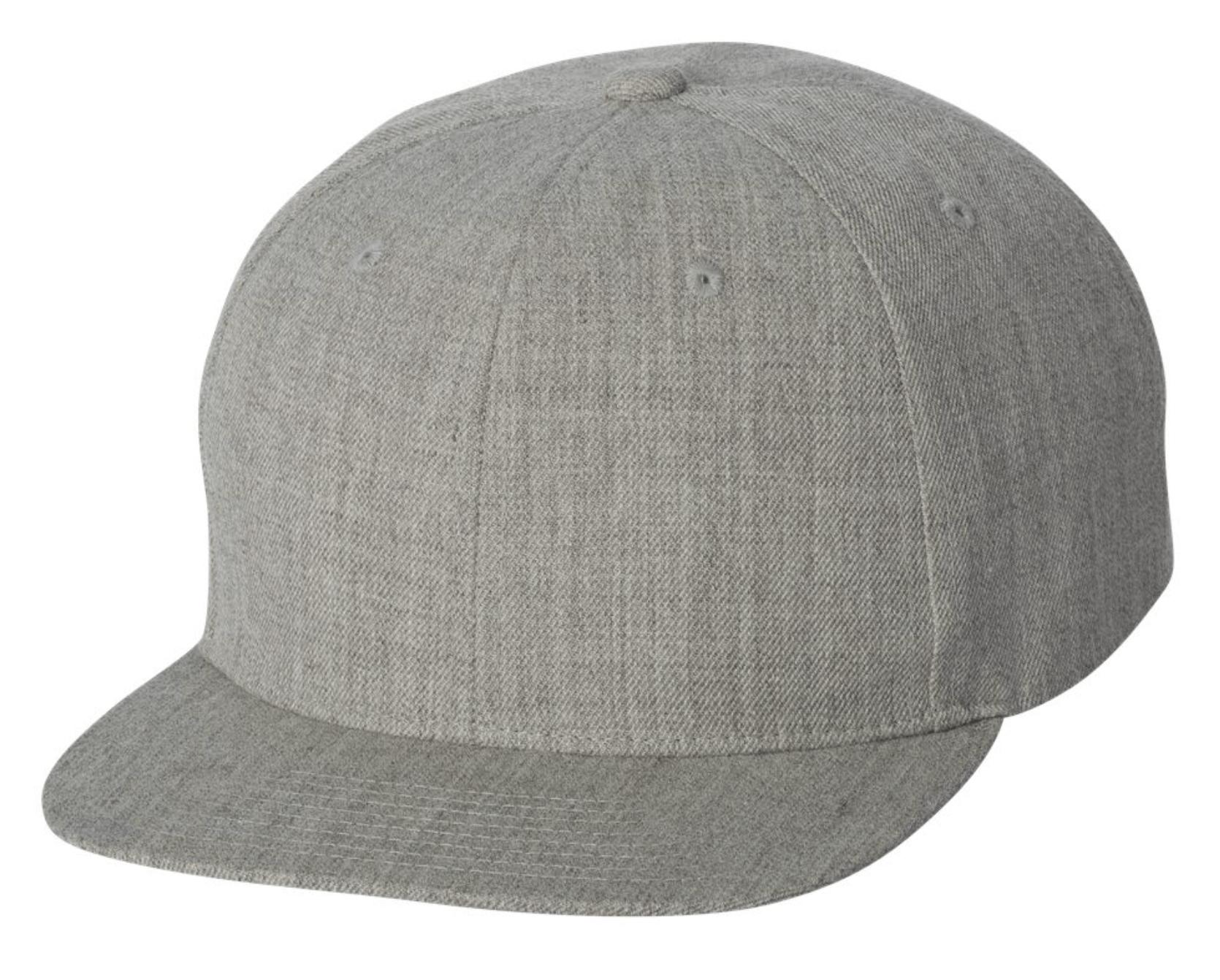YP Classics - FlexFit Flat Bill Snapback Cap - 6089M Embroidery