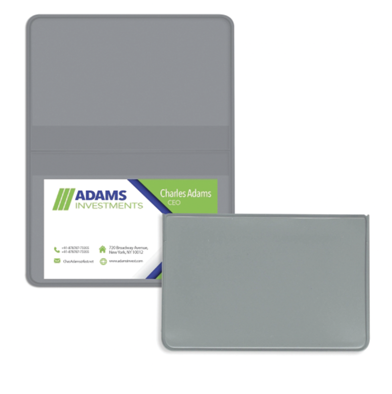 Fold Over Business Card Case 4110