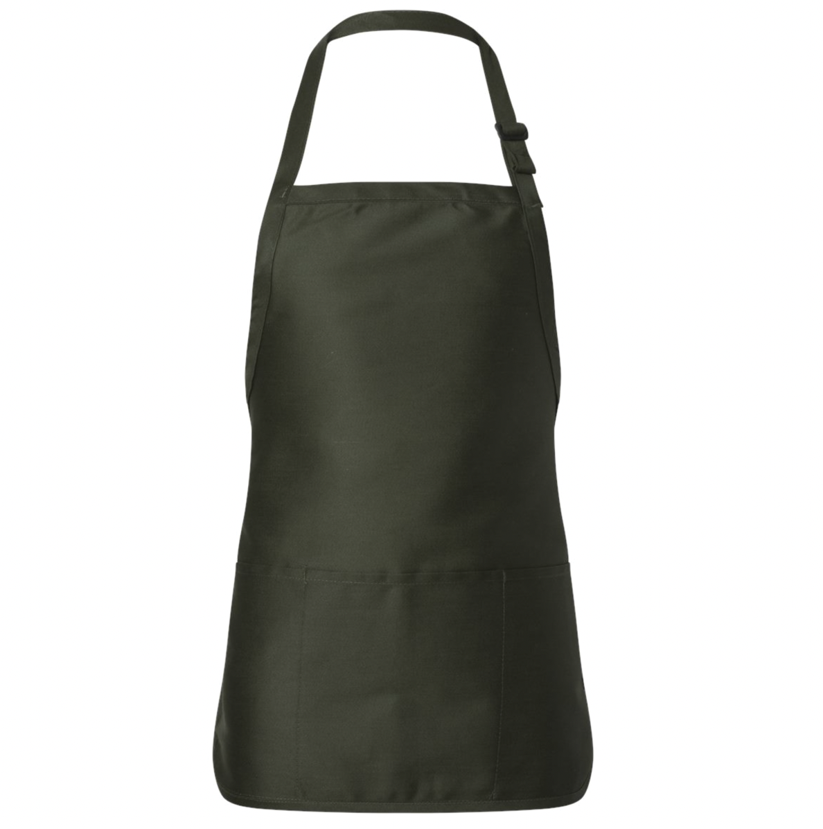 Q-Tees - Full-Length Apron with Pouch Pocket - Q4250