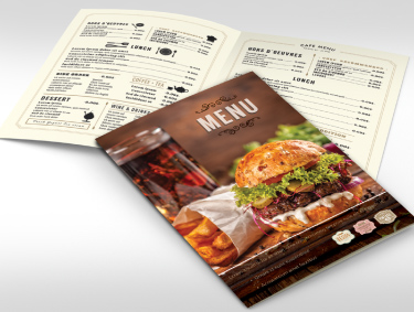 Water and Tear Resistant Menus